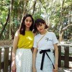 女優の新木優子とViVi専属モデルのemmaの福岡旅後編。博多の屋台グルメも!
