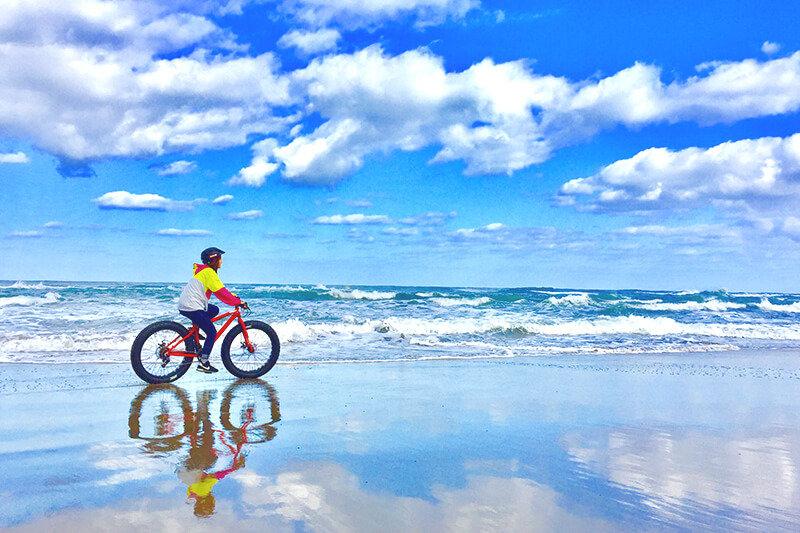 鳥取砂丘のイチ押しアクティビティ!ファットバイクで駆け抜けよう♪