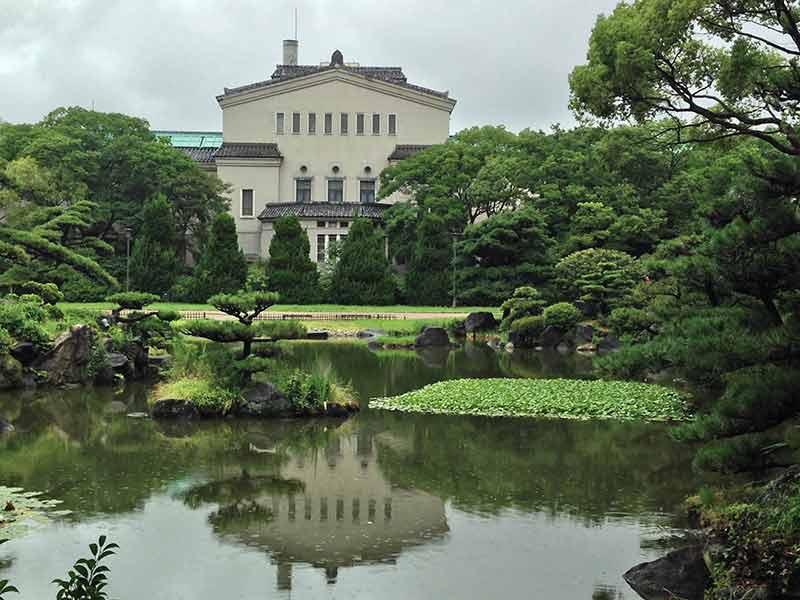 市立の庭園