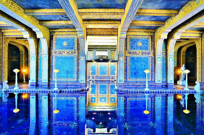 超ゴージャス!内部見学ツアーができる、アメリカ新聞王の大豪邸「ハースト・キャッスル」