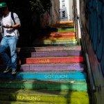 フォトジェニックすぎて困っちゃう?!ドイツのヴッパータールにある「虹色の階段」で、可愛い写真を撮ろう♪