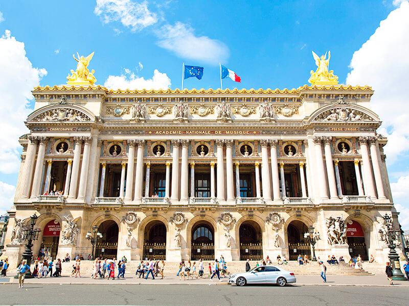 パリ・オペラ座 外観