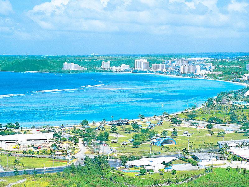 グアム島 タモンビーチ