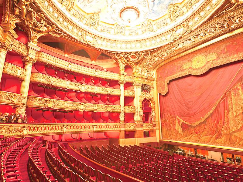 パリ・オペラ座 ホール