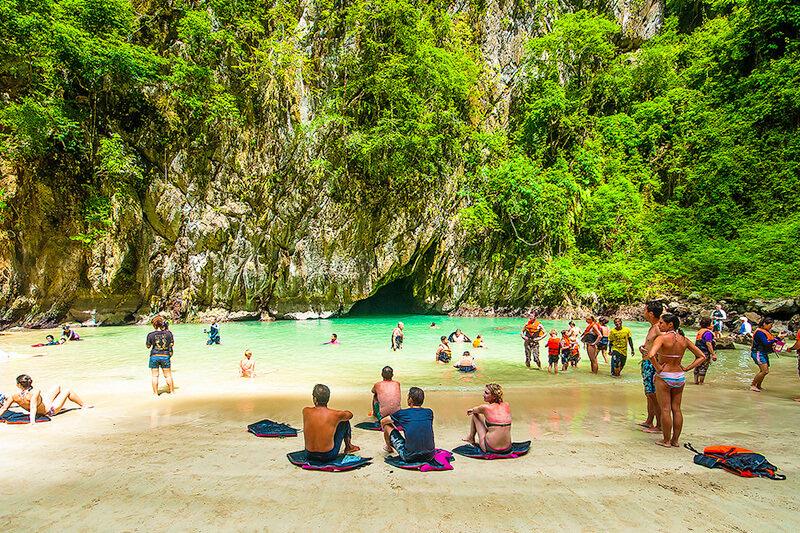 タイのエメラルドケーブってどんなとこ?ムック島のモラコット洞窟が素敵すぎる!