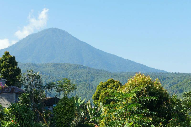 アグン山|バリ島 インドネシア