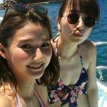 鹿沼憂妃と美優が真夏の沖縄旅でビキニ披露!ジンベエザメとダイビング体験も!