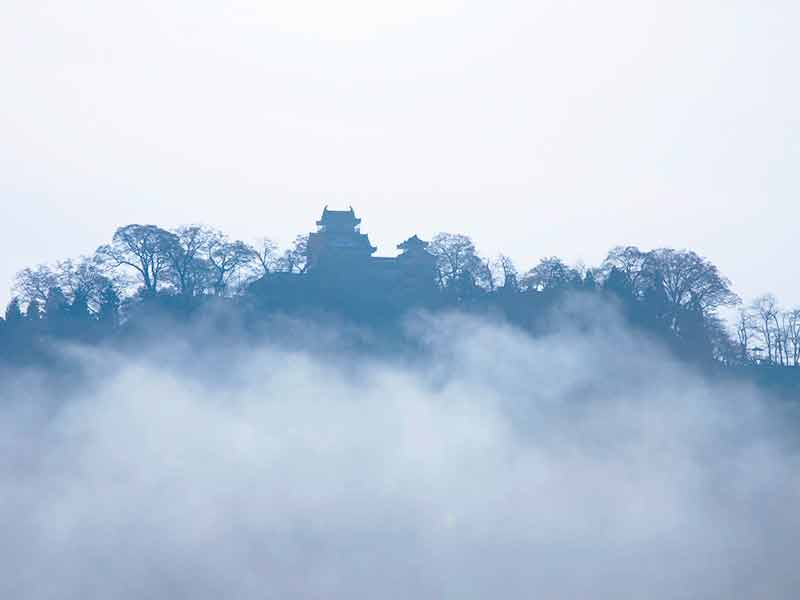大野城 朝霧
