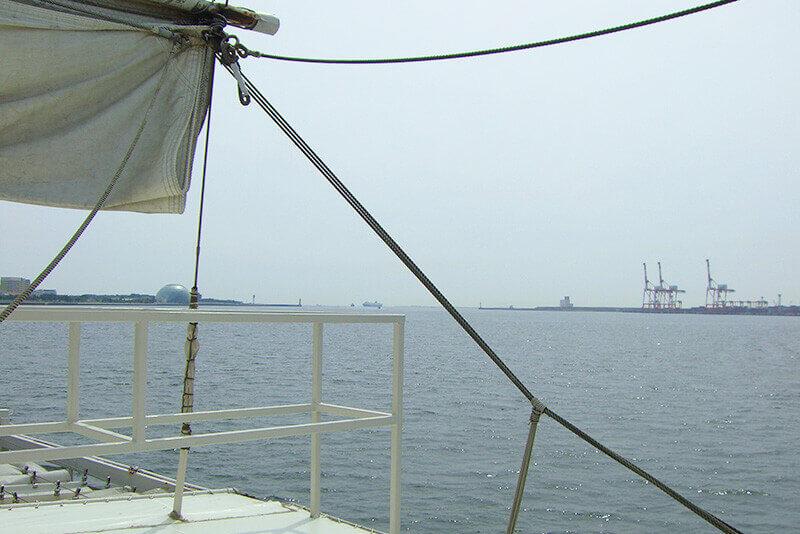 サンタマリア号・船上