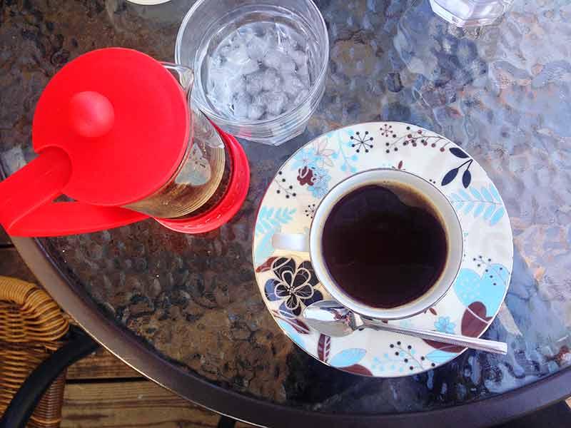ヒロコーヒー・フレンチプレスコーヒー
