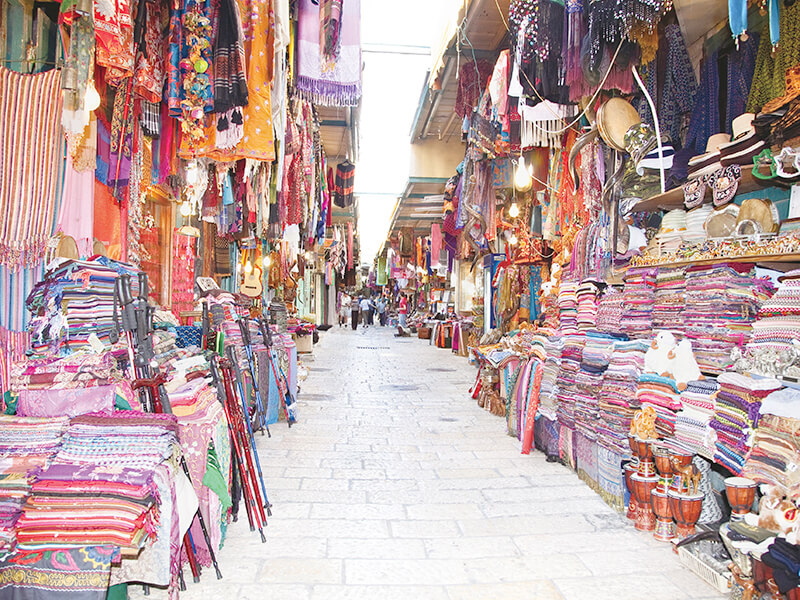 エルサレムの市場