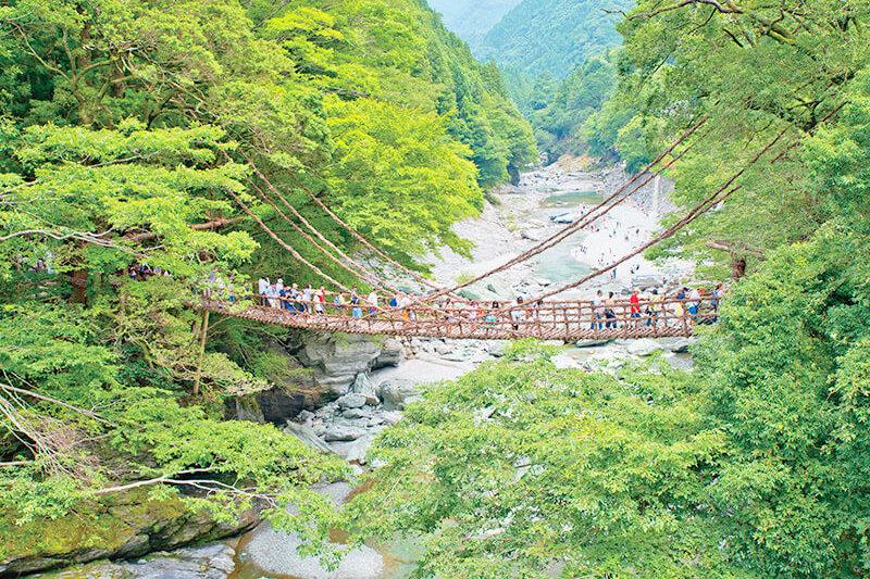 徳島県へ行くなら行ってみて!大歩危・祖谷周辺の人気スポットをご紹介♪
