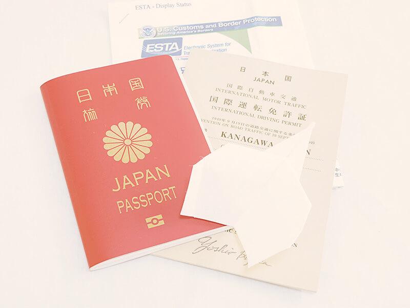 ESTAとパスポート