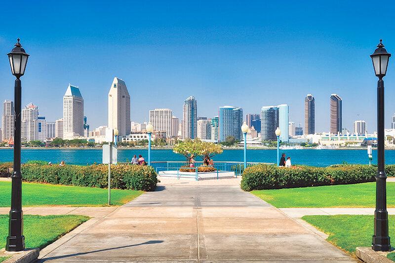 カリフォルニアのリゾート地「サンディエゴ」で、バカンスを満喫しよう!!