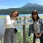 土屋巴瑞季と久住小春が夏の阿寒湖、釧路湿原へ。カヌーや遊覧船で北海道の開放的な景色を感じる!