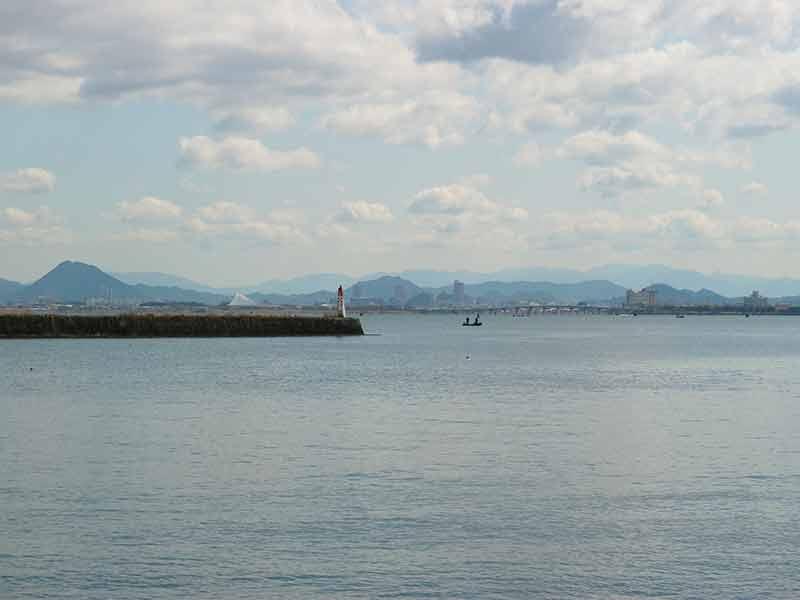 浜大津湖岸
