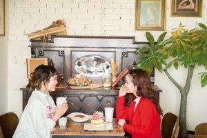 おいしいご飯でホッとひと息。 写真提供:韓国観光公社