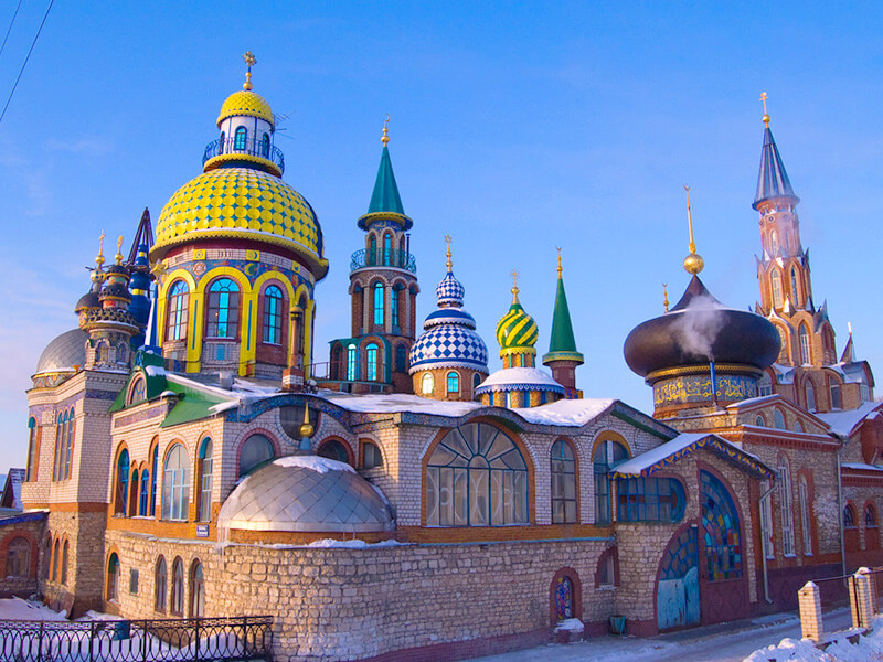 カザンにある寺院