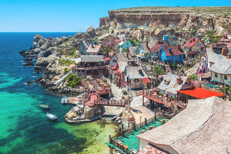インスタでシェアしたい!!マルタ島の「ポパイ村」が超かわいい♪