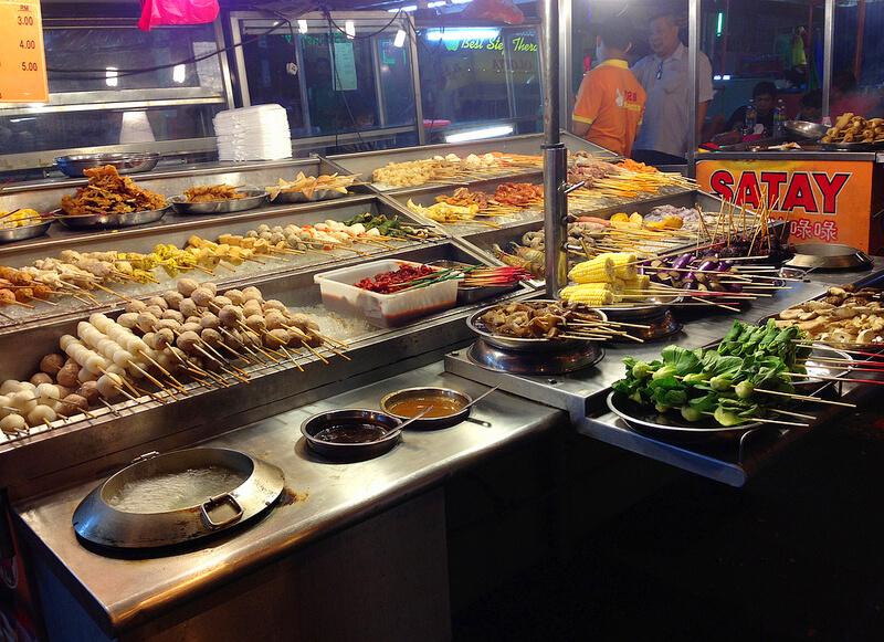 マレーシアの屋台飯