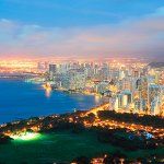ハワイに行くなら体験したい!眺めが最高な高層ホテル&レストラン