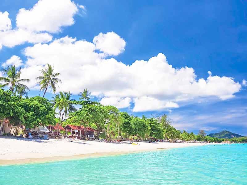 ハワイのビーチイメージ画