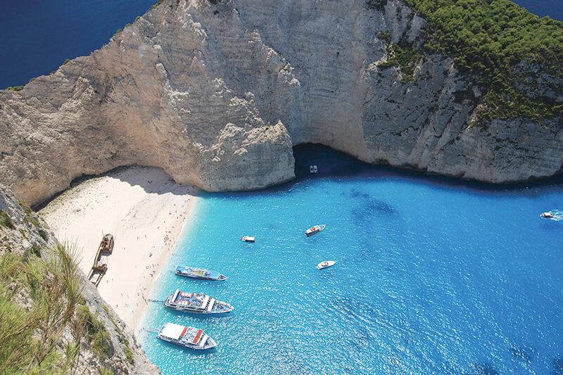 息を呑むほどの蒼い海♪ギリシャのザキントス島に一度は行きたい!