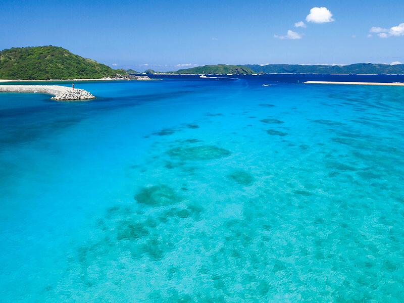 阿嘉島の海