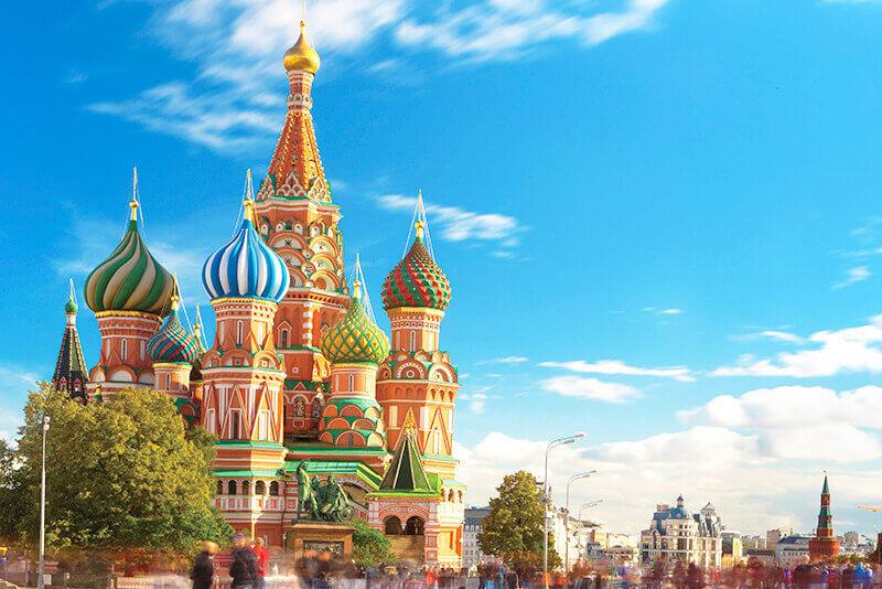 モスクワの聖ワシリー大聖堂