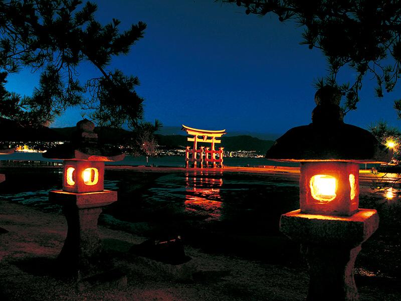 嚴島神社 大鳥居