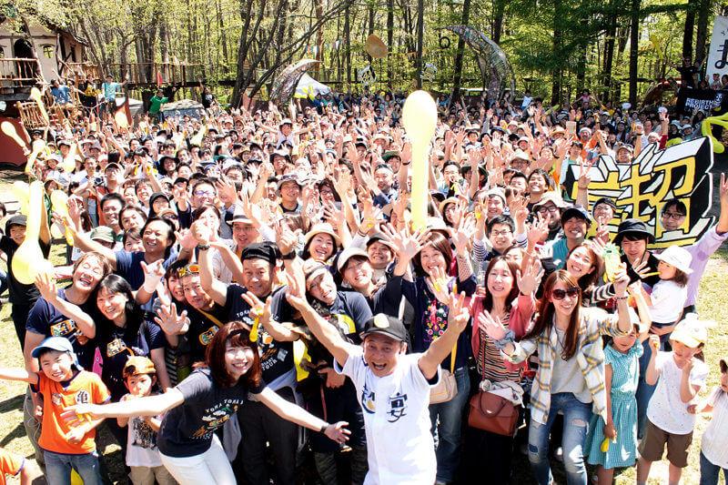 よなよなエールの超宴 in 新緑の北軽井沢2017