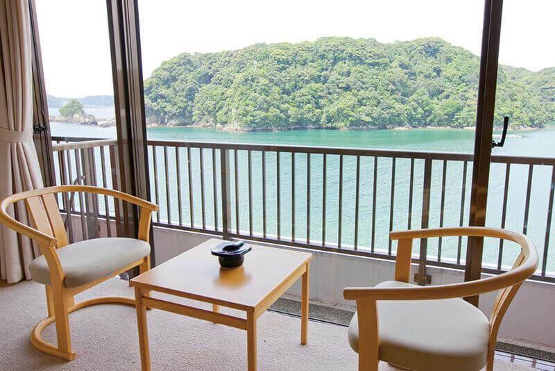 ホテル中の島 客室