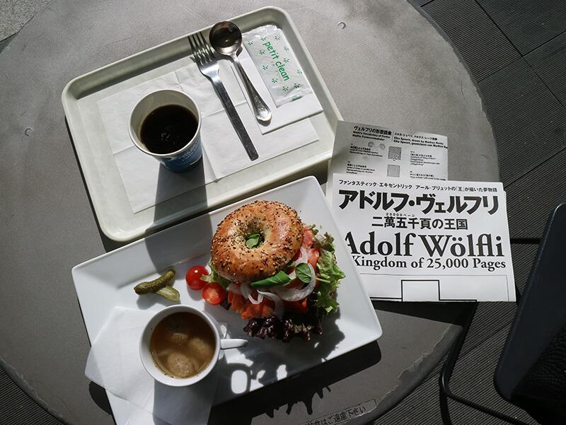 兵庫県立美術館カフェ