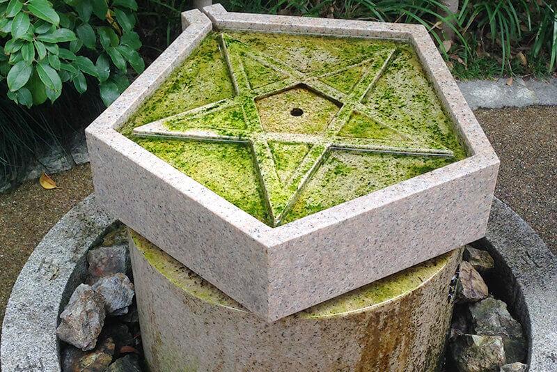 清明神社・五芒星