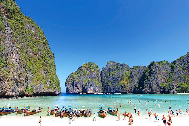"""映画の舞台になった""""伝説のビーチ""""があるタイの楽園「ピピ島」に行きたい!"""