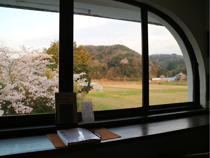 丹後・木津温泉の松本清張の書斎
