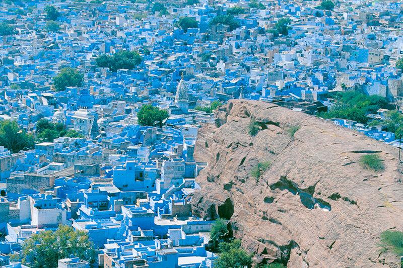 青一色の街?!インドの「ジョードプル」に絶景を見にいこう♪