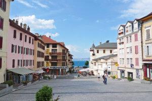 エビアンの街の画像