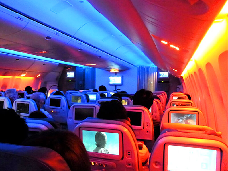 トルコ航空 機内