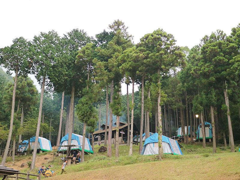 休暇村近江八幡キャンプ場