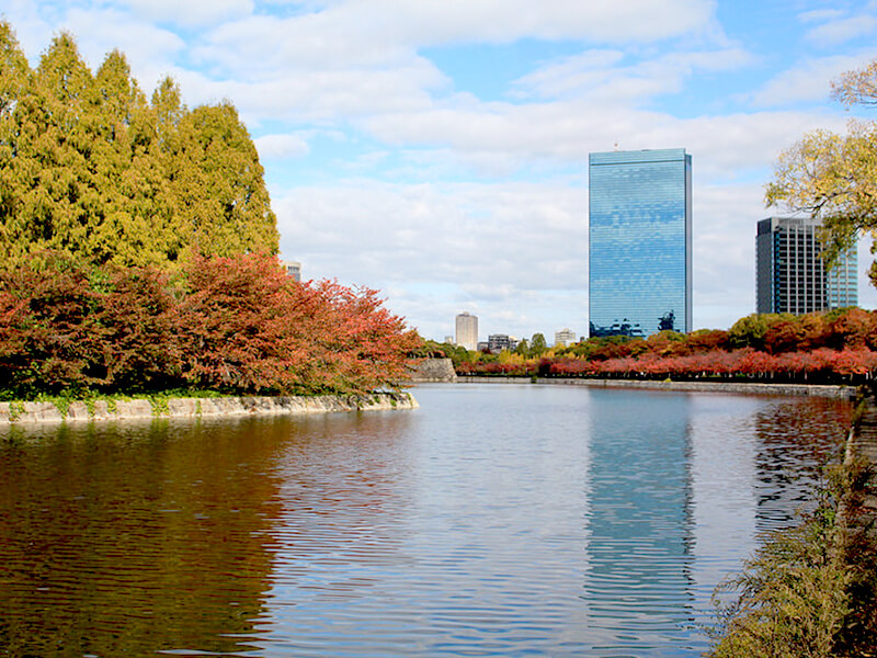 大阪城公園東外堀