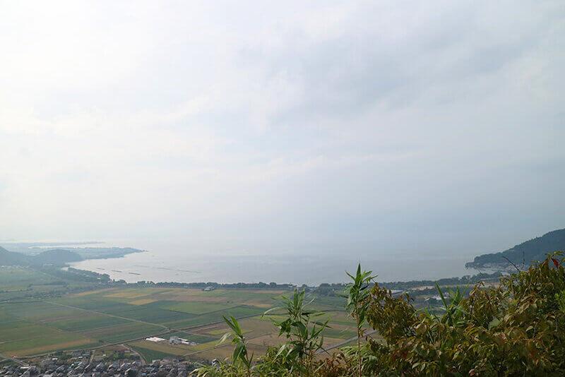 八幡山・景色