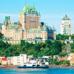 カナダにあるプチ・フランス、世界遺産の街並みが美しい「ケベックシティ」をご紹介