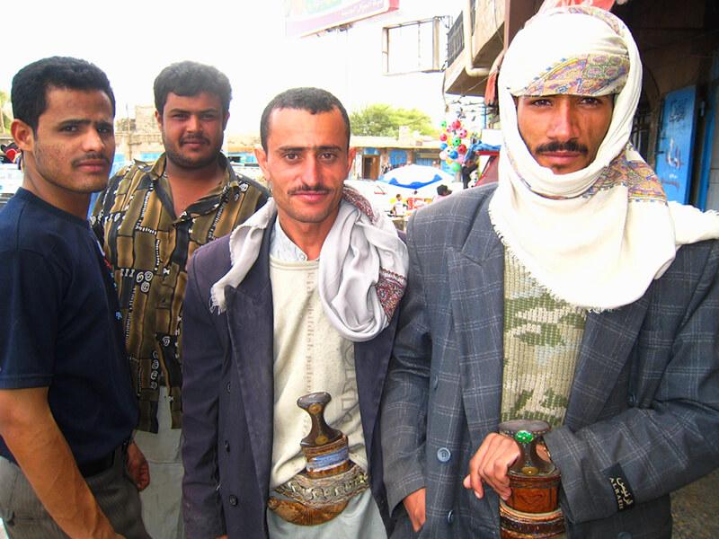イエメンの男性