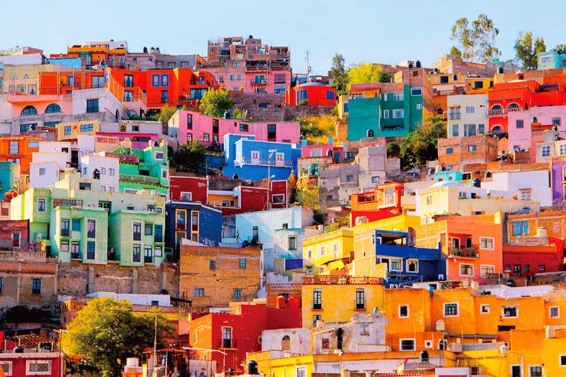 まるで宝石箱のようなカラフルで可愛い街♪メキシコの世界遺産「グアナファト」