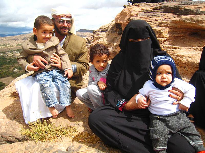 イエメンの女性