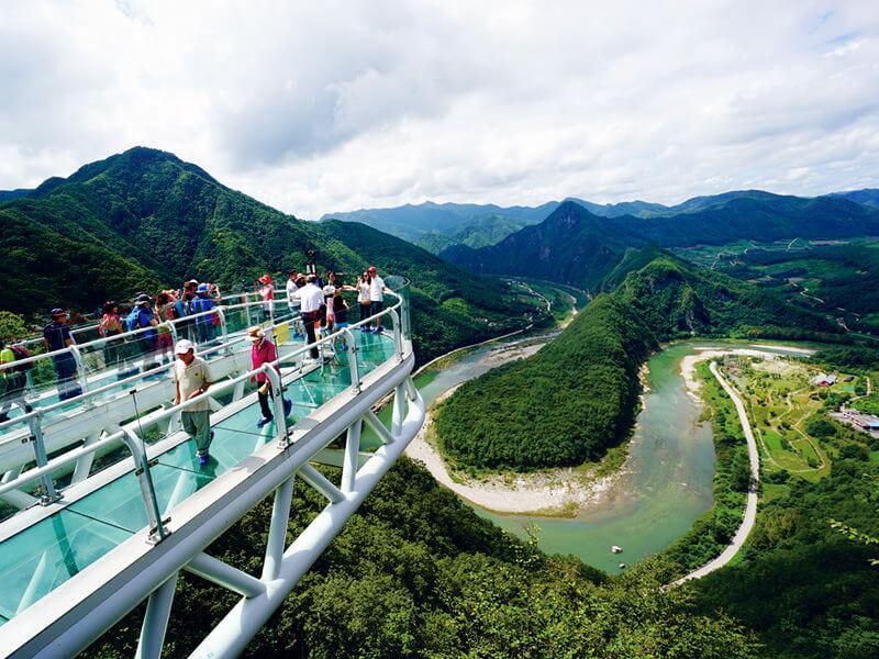 アリヒルス スカイウォーク。写真提供:韓国観光公社