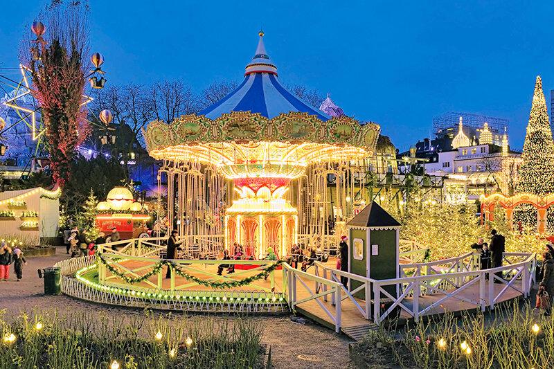 素敵すぎる遊園地♪ディズニーランドのモデルになったデンマークの「チボリ公園」