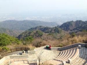 六甲山からの眺望