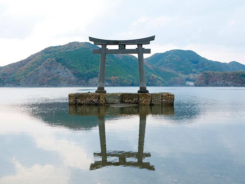 和多都美神社 一ノ鳥居 2008/11